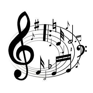Music notes image