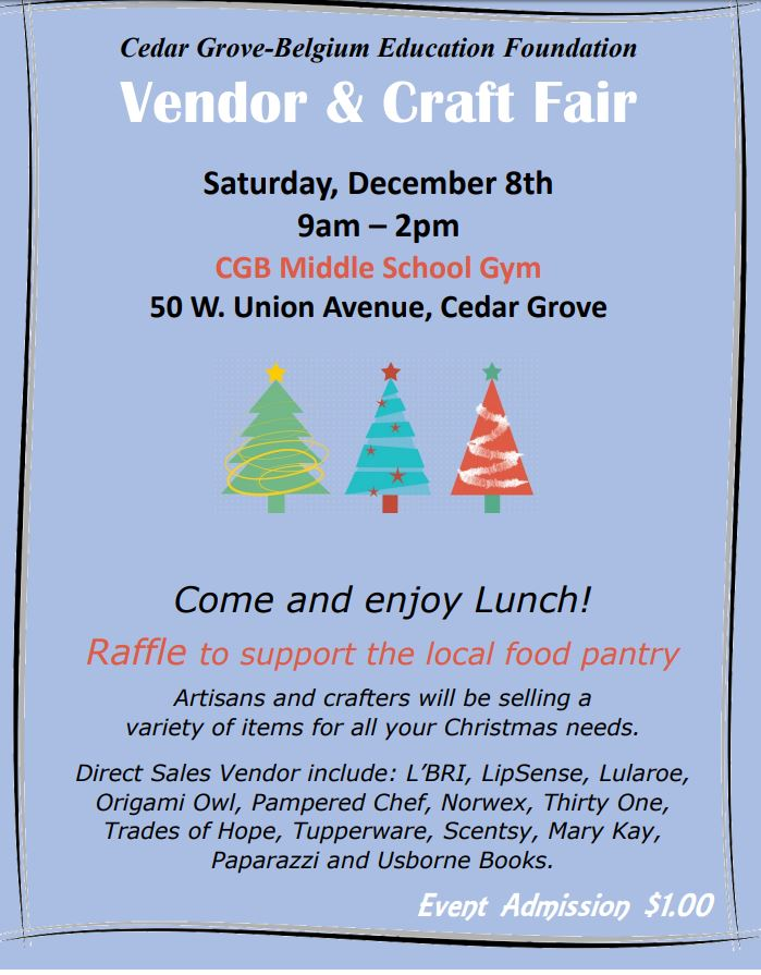 Vendor & Craft Fair